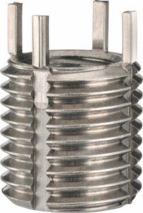 Loksert Gewindeeinsatz aus rostfreiem Stahl